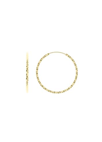 10012498 Kolczyki srebrne pozłacane pr.925