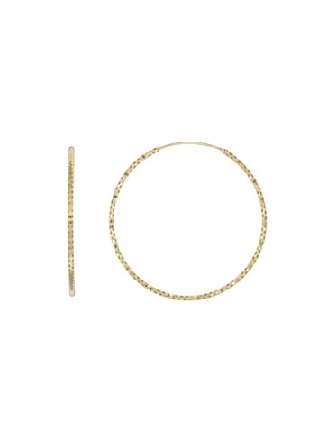 10010332 Kolczyki srebrne pozłacane pr.925