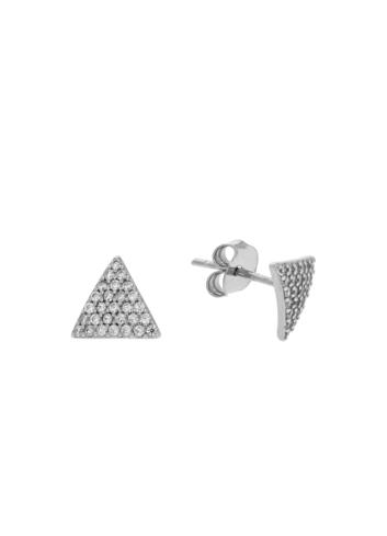 10013387 Kolczyki srebrne pr.925 z cyrkoniami