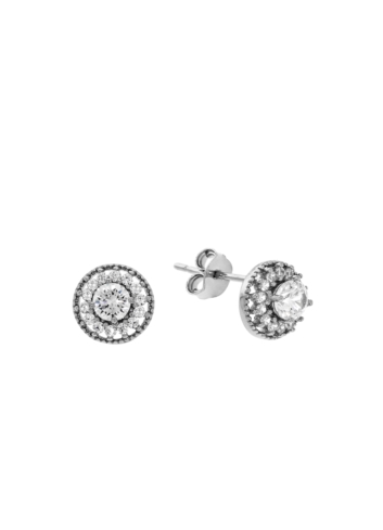 10013395 Kolczyki srebrne pr.925 z cyrkoniami