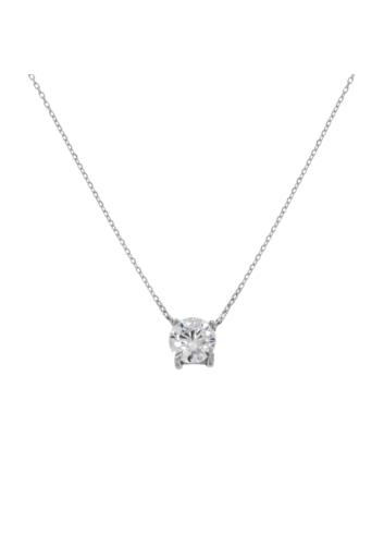10013447 Naszyjnik srebrny pr.925 z cyrkoniami