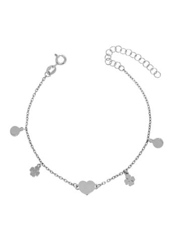 10013543 Bransoletka srebrna pr.925