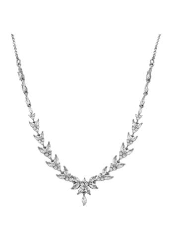 10013573 Naszyjnik srebrny pr.925 z cyrkoniami