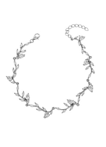 10013583 Bransoletka srebrna pr.925 z cyrkoniami