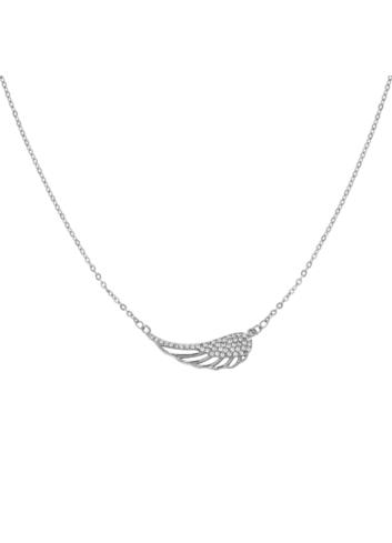 10005723 Naszyjnik srebrny pr.925 z cyrkoniami