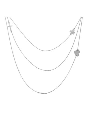 10014253 Naszyjnik srebrny pr.925