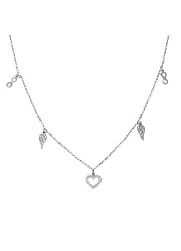 10014252 Naszyjnik srebrny pr.925