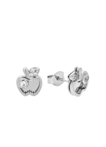 10014332 Kolczyki srebrne pr.925 z cyrkoniami
