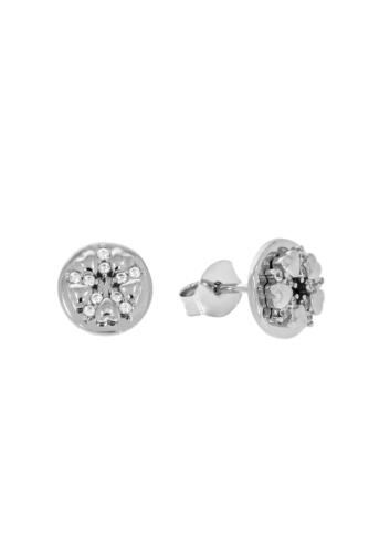 10014352 Kolczyki srebrne pr.925 z cyrkoniami
