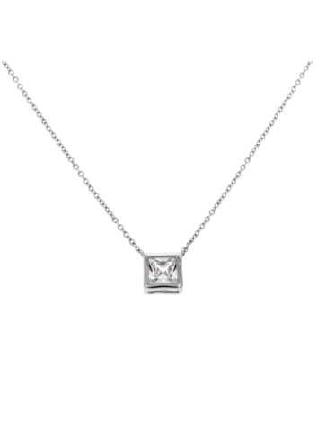 10000127 Naszyjnik srebrny pr.925 z cyrkoniami
