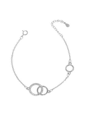 10014528 Bransoletka srebrna pr.925 z cyrkoniami