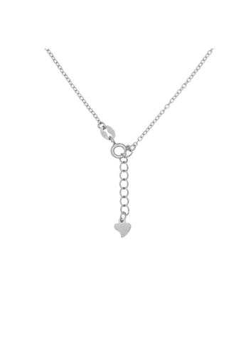 10014546 Naszyjnik srebrny pr.925 z cyrkoniami