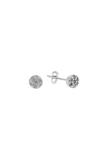 10012385 Kolczyki srebrne pr.925 z cyrkoniami