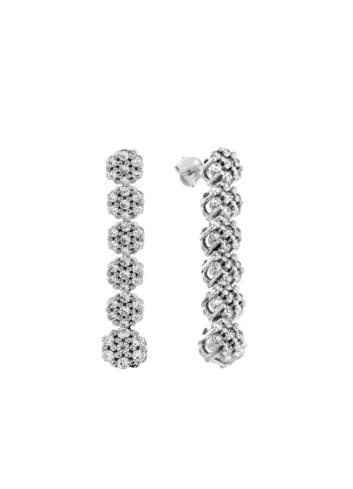 10014668 Kolczyki srebrne pr.925 z cyrkoniami