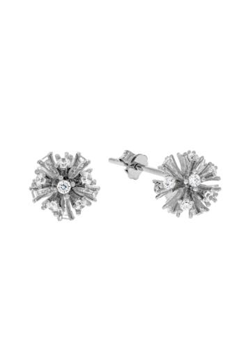 10014972 Kolczyki srebrne pr.925 z cyrkoniami