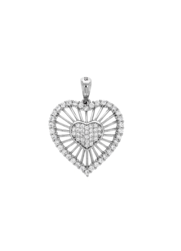 10015028 Wisiorek srebrny pr.925 z cyrkoniami