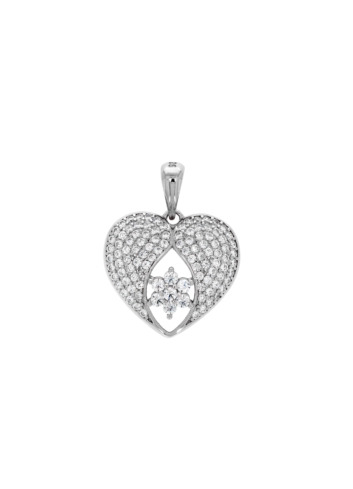 10015024 Wisiorek srebrny pr.925 z cyrkoniami