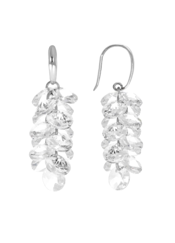 10009089 Kolczyki srebrne pr.925 z kryształami