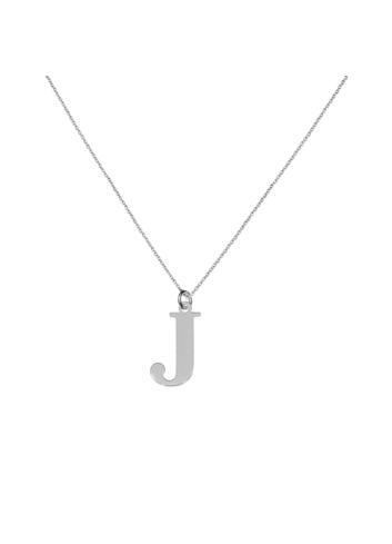 """10015335 Naszyjnik srebrny pr.925 literka """"J"""""""