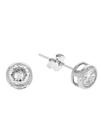 10009812 Kolczyki srebrne pr.925 z cyrkoniami