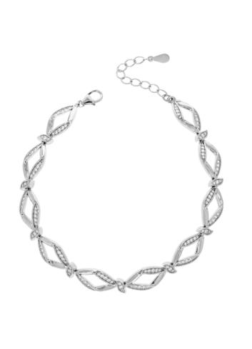 10010769 Bransoletka srebrna pr.925 z cyrkoniami