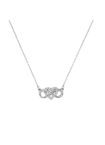 10015513 Naszyjnik srebrny pr.925 z cyrkoniami