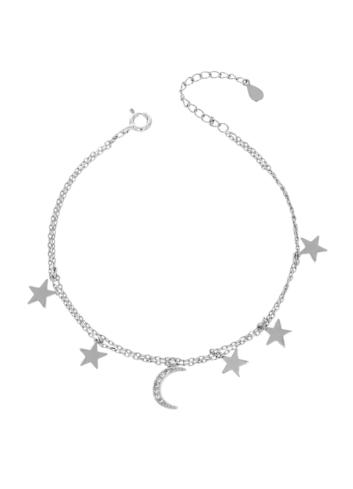 10015498 Bransoletka srebrna pr.925 z cyrkoniami