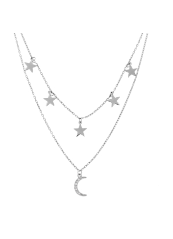 10015497 Naszyjnik srebrny pr.925 z cyrkoniami