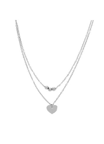 10015492 Naszyjnik srebrny pr.925 z cyrkoniami