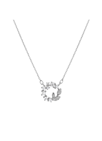 10015412 Naszyjnik srebrny pr.925 z cyrkoniami