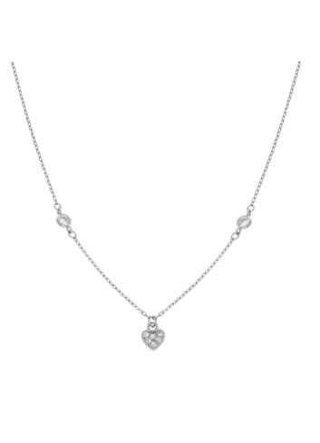 10015429 Naszyjnik srebrny pr.925 z cyrkoniami