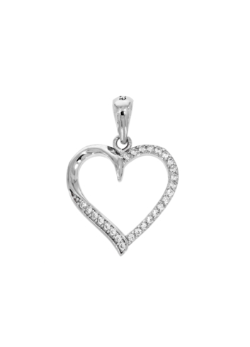 10015621 Wisiorek srebrny pr.925 z cyrkoniami