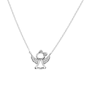 10015683 Naszyjnik srebrny pr.925 z cyrkoniami