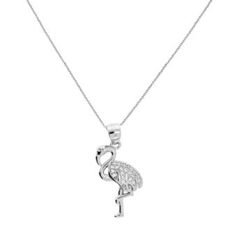 10015709 Naszyjnik srebrny pr.925 z cyrkoniami
