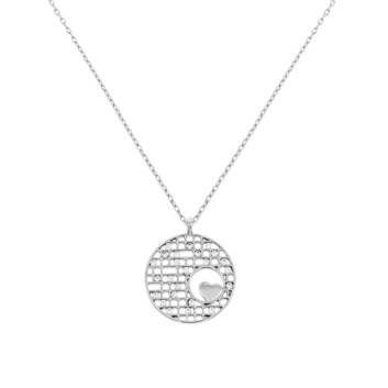 10015717 Naszyjnik srebrny pr.925 z cyrkoniami