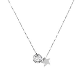 10015451 Naszyjnik srebrny pr.925 z cyrkoniami