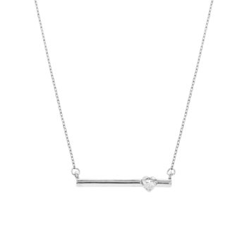 10015702 Naszyjnik srebrny pr.925 z cyrkoniami