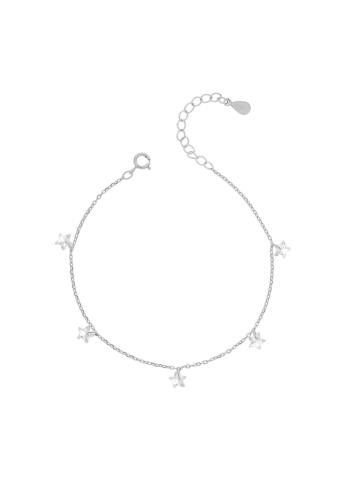 10007818 Bransoletka srebrna pr.925 z cyrkoniami
