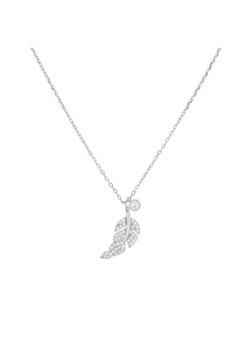 10006071 Naszyjnik srebrny pr.925 z cyrkoniami