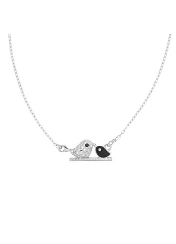 10006914 Naszyjnik srebrny pr.925 z cyrkoniami