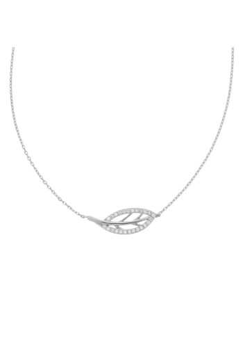 10005561 Naszyjnik srebrny pr.925 z cyrkoniami