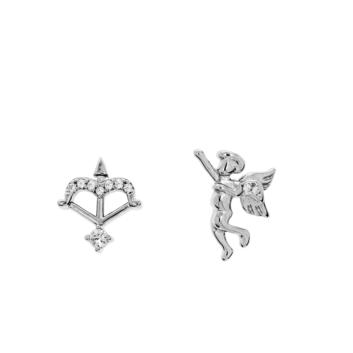 10015804 Kolczyki srebrne pr.925 z cyrkoniami