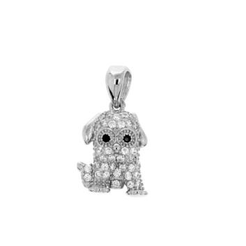 10016026 Wisiorek srebrny pr.925 z cyrkoniami