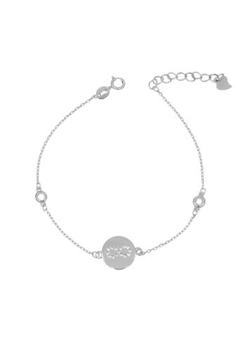 10005518 Bransoletka srebrna pr.925 z cyrkoniami