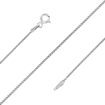 10016177 Łańcuszek srebrny pr.925 - 50 cm