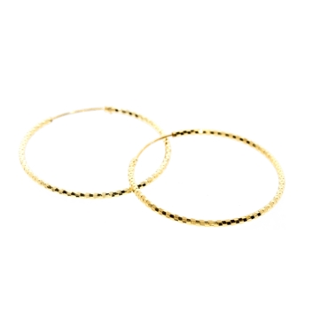 10016316 Kolczyki srebrne pozłacane pr.925