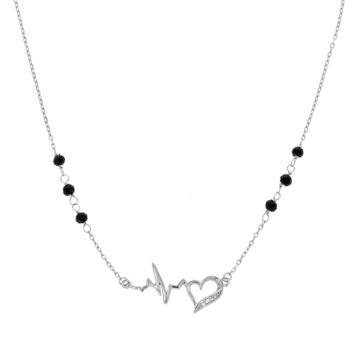 10016416 Naszyjnik srebrny pr.925 z cyrkoniami