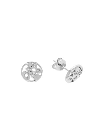 10007963 Kolczyki srebrne pr.925 z cyrkoniami