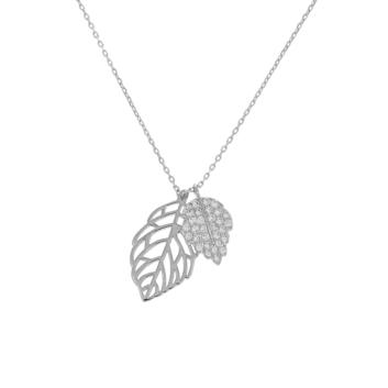 10012762 Naszyjnik srebrny pr.925 z cyrkoniami