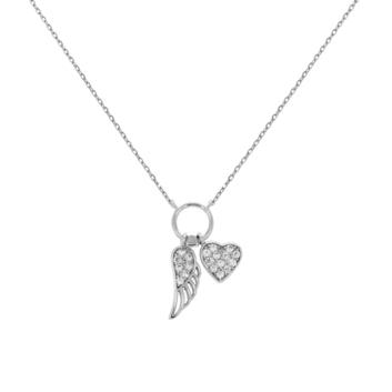 10016467 Naszyjnik srebrny pr.925 z cyrkoniami